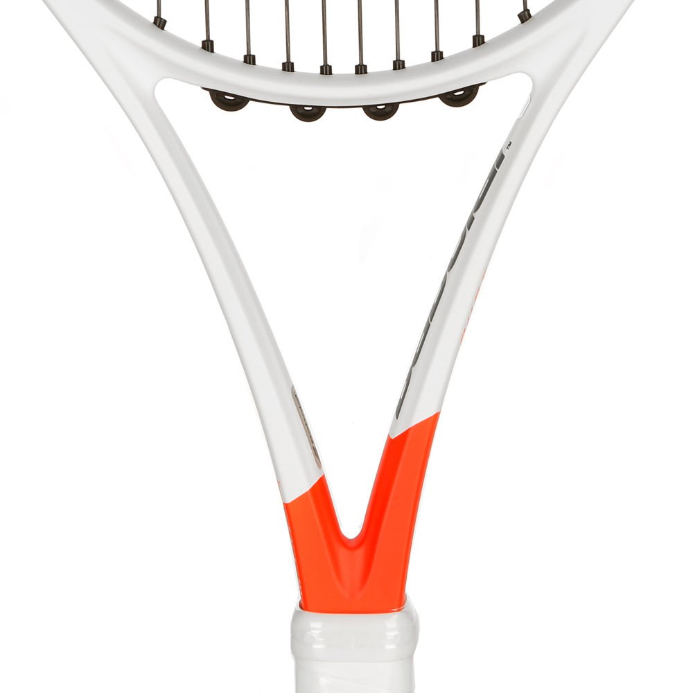 Amazon.com: Babolat Pure Strike 26 Junior Grey/Orange/White Tennis Racquet Strung SG Spiraltek in Custom Racket String Colors (Best Junior Racket for ...