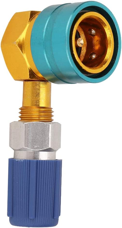 R1234yf Adapter R1234YF to R134A Low Side Quick Coupler Adapter Car Air-conditioning Fitting