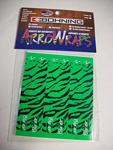 carbon arrows green - 3