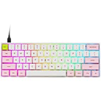 EPOMAKER SK61 61 Keys Hot Swappable Mechanical Keyboard with RGB Backlit, NKRO,Type-C Cable for Win/Mac/Gaming (Gateron…