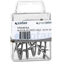 4.0 x 18 mm Cofan 07044018 Remache ala ancha