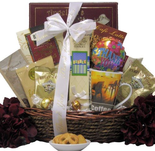Great Arrivals Gourmet Coffee Gift Basket, Warm Thanks