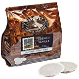 Baronet Coffee French Vanilla Coffee Pods Bag, 54 Count