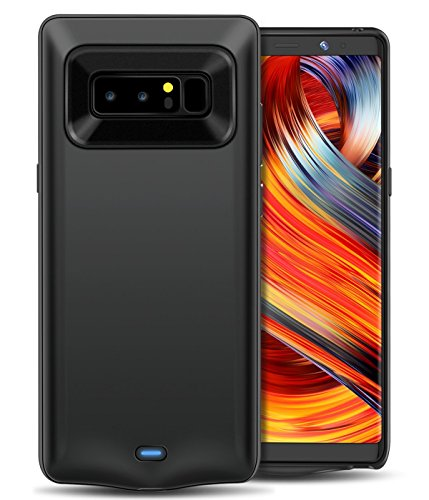 GALAXY NOTE 8 BATTERY Case, Tessera [RECHARGEABLE PORTABLE CHARGING CASE] External Battery + Protective + Juice Pack + Power Bank Cover + Charging Case for Galaxy Note 8 (6.5
