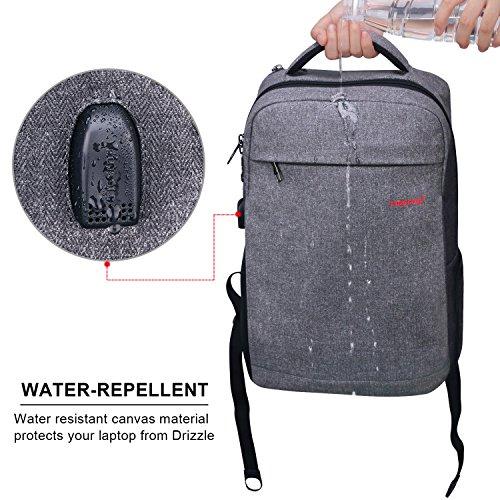 6727b21dcee LAPACKER 15.6 Anti Theft Slim Water Resistant Laptop Backpack Bag for  Men&Women, Lightweight Business Travel