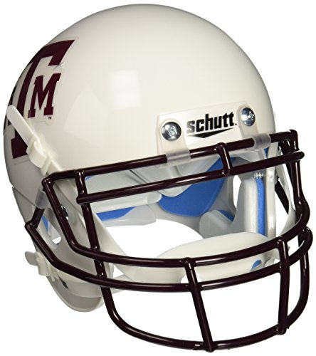 NCAA Texas A&M Aggies Collectible Alt 1 Mini Helmet, White Maroon