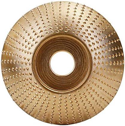 Gelentea Wolframcarbid Holzschleifer Winkelschleifscheiben Schleifscheiben Schleifscheiben Metall Kunststoff Holz Schleifwerkzeug für Winkelschleifer, M
