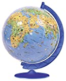 Ravensburger XXL Children's Globe 180 Piece 3D Jigsaw Puzzle Ball for Kids and Adults - Easy Click Technology Means Pieces Fit Together Perfectly