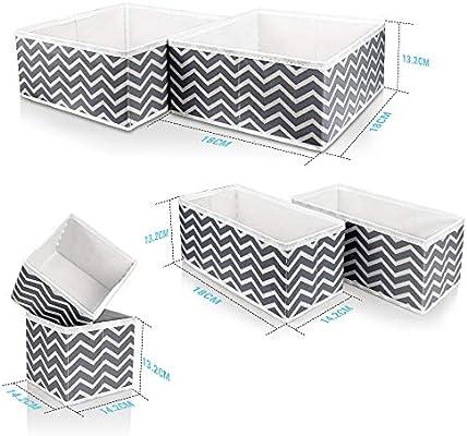Like-very Caja de Almacenamiento de Tela Plegable para armarios ...