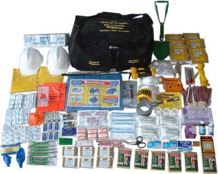 Mayday Ready to Roll Full Emergency First Aid, Search & Rescue, Emergency, CERT Kit by Mayday