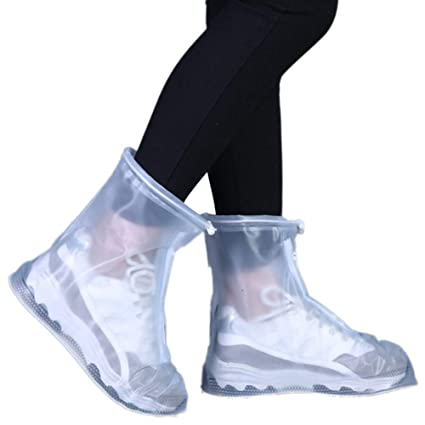 Useful New Rain Shoes Boots Covers Overshoes Galoshes Travel for Men Women Kids