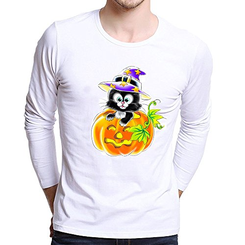 Clearance Sale!Toimoth Men Plus Size Long Sleeve Printing Tees Shirt T Shirt Blouse (Multicolor,XS)