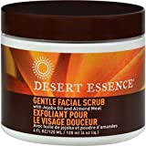Desert Essence Gentle Stimulating Facial Scrub, 4 Ounce