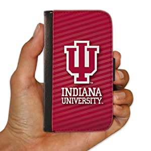 """Indiana University """"Stripes Design"""" iPhone 6 Protective Wallet Case"""