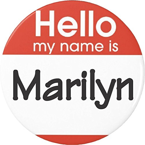 Hello my name is Marilyn 2.25