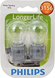 Philips 3156 LongerLife Miniature Bulb, 2 Pack
