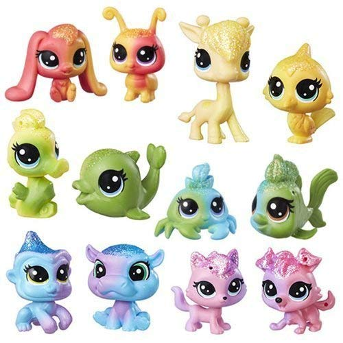 Littlest Pet Shop Rainbow Collection BFF Mini-Figures Wave 1 ()