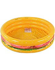 Kiddie Pool, Watermelon Hamburger Ice Cream Inflatable Pool, Water Pool in Summer, Pit Ball Pool of 45 Inches