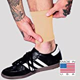 Tat2X Ink Armor Premium Ankle 6'' Tattoo Cover Up Sleeve - No Slip Gripper - U.S. Made - Light - XSS (single six inch ankle cover up sleeve)