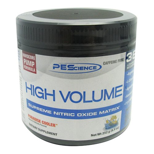 PEScience High Volume Pre-Workout Paradise Cooler 8.9 Ounce, 36 Servings