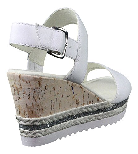 SANDAL WICKET GABOR Blanco WEDGE 65 790 wOqBCgqU