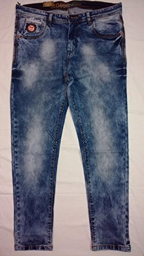 b360be1082a Image Unavailable. Image not available for. Colour  Dadddy s Style Men s  Slim Fit Straight Moscowtic Jeans Pants Vintage Style with balloon fit