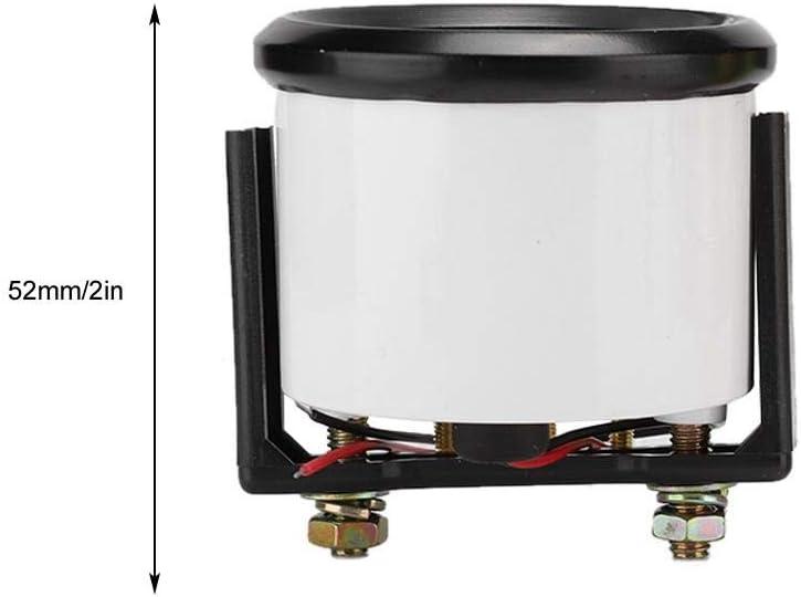 52mm//2in Indicateur de jauge de Pression dhuile /électromagn/étique Universel pour Voiture Indicateur modifi/é automatiquement 0-100 PSI EBTOOLS Jauge de Pression dhuile 12V
