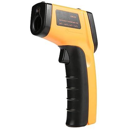 Termometro Digital Laser,Rango De Temperatura De Medición De -50 ° C A 380 °