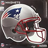New England Patriots SD HELMET Design 12'' Magnet Heavy Duty Auto Home NFL Football