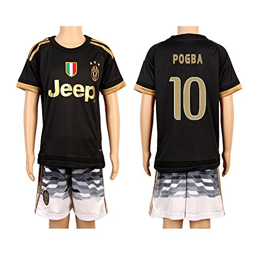 Black Youth Football Soccer Jersey product image