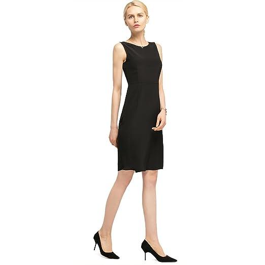 Lilysilk Silk Little Black Dress For Women And Ladies Round Neck