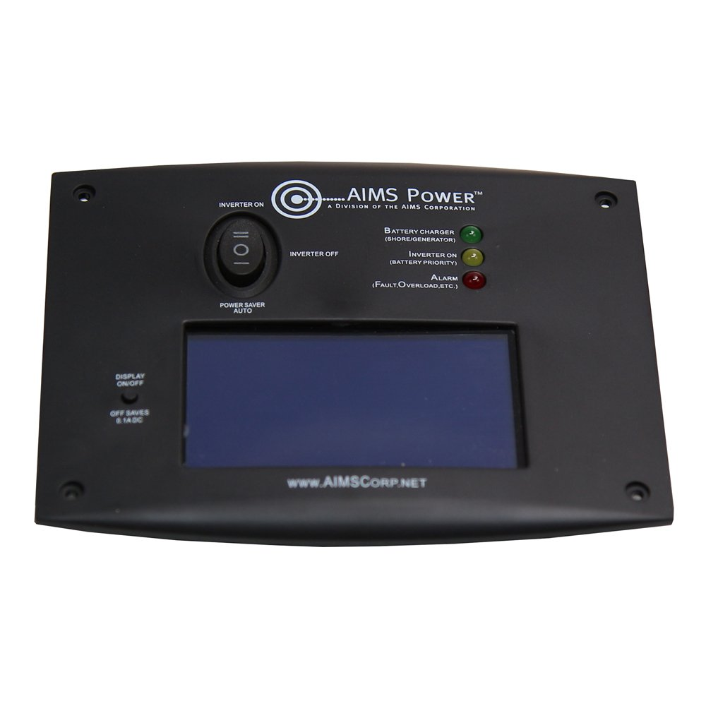 AIMS Power REMOTELF Remote Switch with LCD Monitoring Screen by AIMS Power
