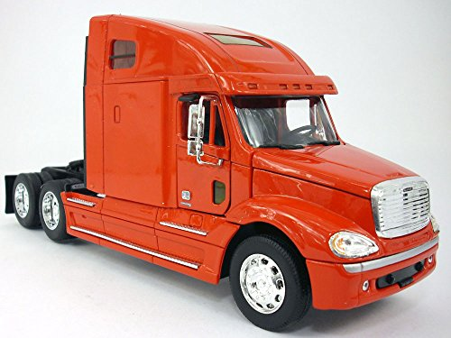 Freightliner Columbia Extended Cab Truck 1/32 Scale Diecast Metal and Plastic Model - RED