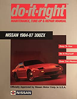 1986 nissan 300zx workshop manua 1986 nissan 300zx service shop repair manual model z31 series array do it right nissan 1984 87 300zx repair manual nissan amazon com rh amazon fandeluxe