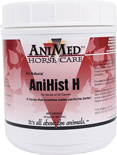 AniMed Anihist-H to Support Normal Histamine Levels in Horses, 20-Ounce