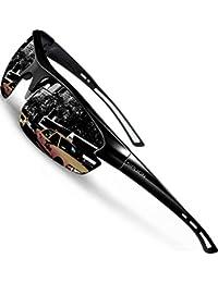 Men's Polarized Sunglasses Sports Cycling Fishing Golf TR90 Superlight Frame