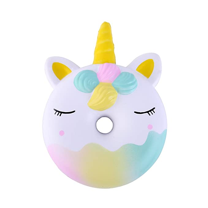 Amazon.com: Anboor Squishies - Donut de unicornio Kawaii ...