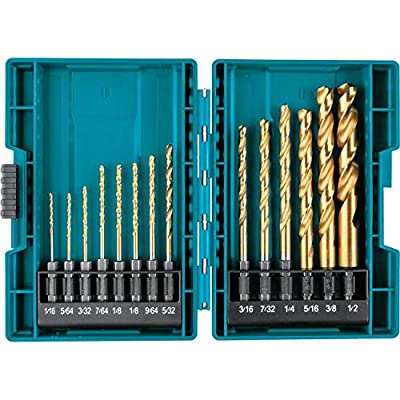 Makita B-65399 Impact Gold 14 Pc. Titanium Drill Bit Set