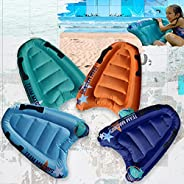 Team Magnus Devilfish Bodyboard Race Pack - Set of 4 for Slip and Slide, Pool and Beach use