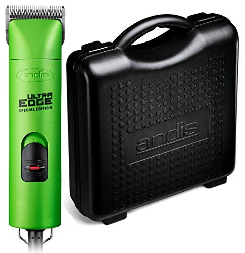 Andis ProClip UltraEdge 2 Speed Detachable Blade Clipper, Includes Hard Case for Added Protection (Evergreen)