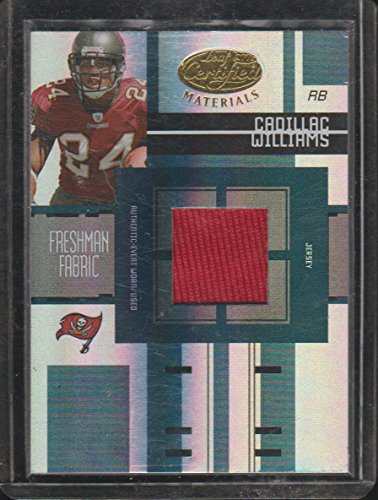2005 Leaf Certified Cadillac Williams Buccaneers 489/499 Rookie Jersey Football Card #FF-206 ()