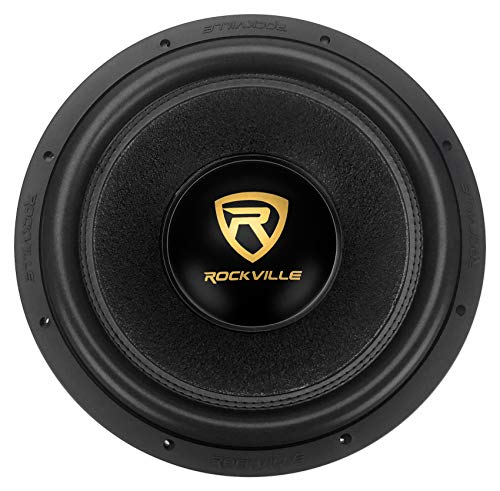 "Rockville W15K9D2 15"" 5000w Car Audio Subwoofer Dual 2-Ohm Sub CEA Compliant"