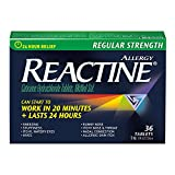 Reactine Tablets Regular Strength 5 mg, 36 Count