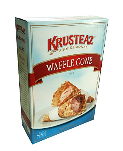 Krusteaz Professional Waffle Cone Mix - 5 lbs - One Box (Chocolate Ice Cone Cream)