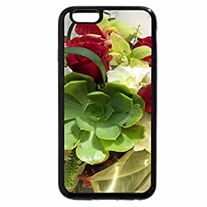 iPhone 6S / iPhone 6 Case (Black) Bouguet of Roses