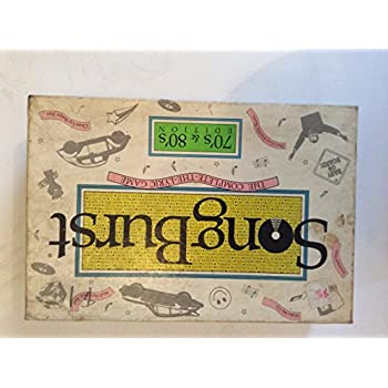 Songs About Board Games : song burst 70 39 s and 80 39 s edition the complete the lyric game board game toys games ~ Vivirlamusica.com Haus und Dekorationen