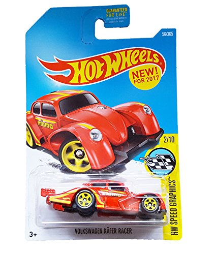 Hot Wheels 2017 HW Speed Graphics Volkswagen Kafer Racer 56/365, Red