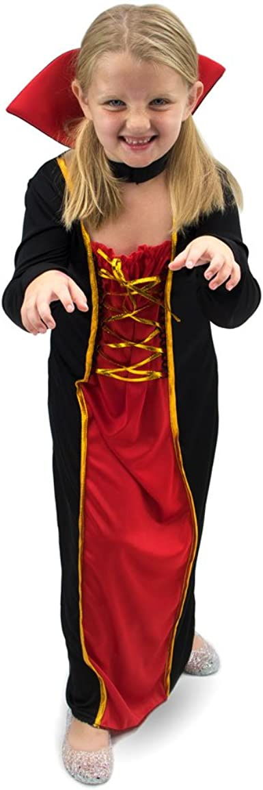 Vexing Vampire Girls Halloween Costume Childrens Dress Up Brybelly Holdings Inc. YL