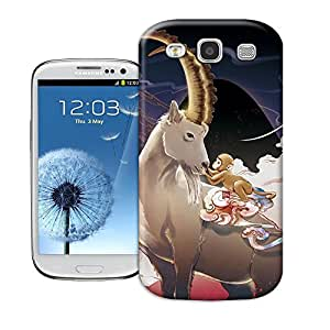 Longcase strong sheep and cute monkey Tpu material hard case for samsung galaxy s3
