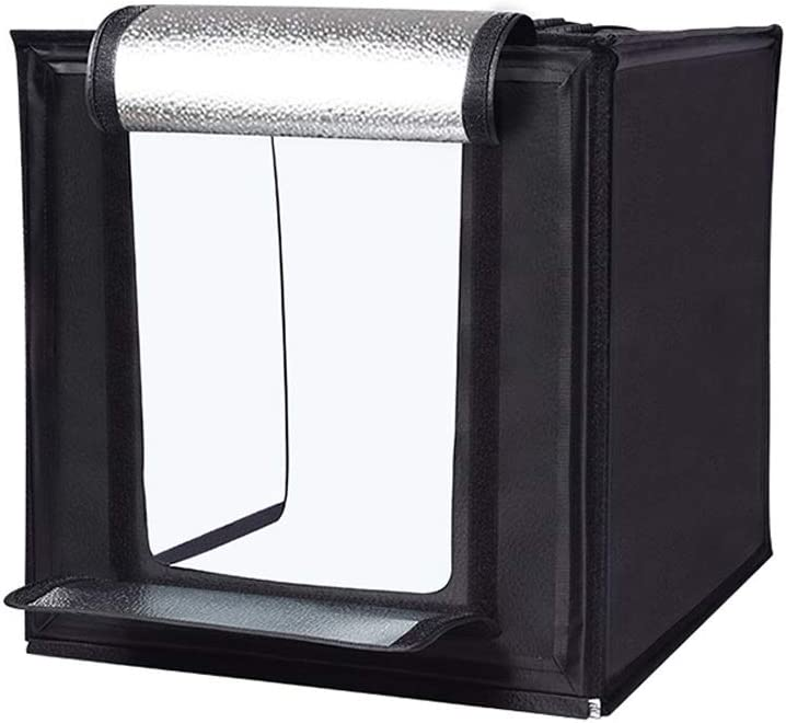 Size : S CAIM LED Small Studio Simple Portable Photo Props Photo Light Box Fill Light Set Foldable Mini Soft Light Box